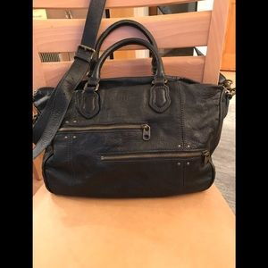Liebskind Berlin EUC leather satchel